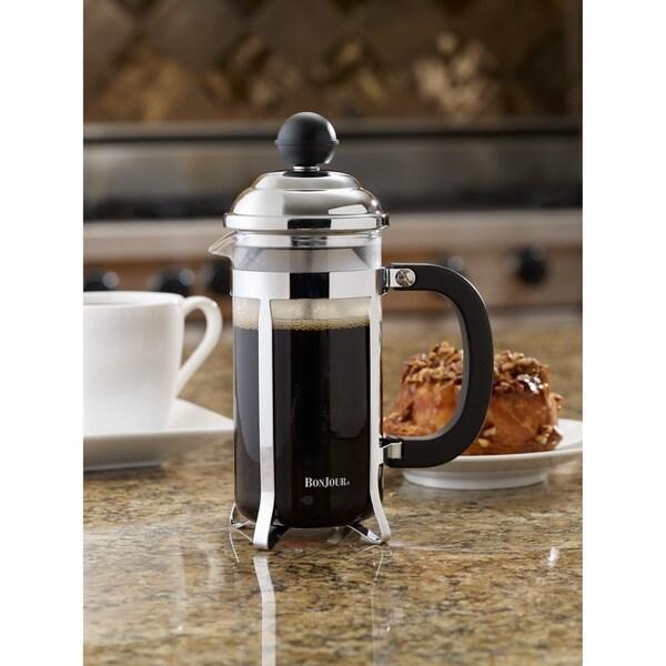BonJour Coffee Black Bijoux French Press 12613403