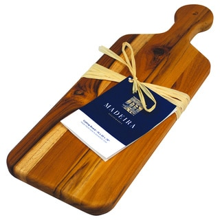 Madeira Provo Edge-grain Teak Bread Board