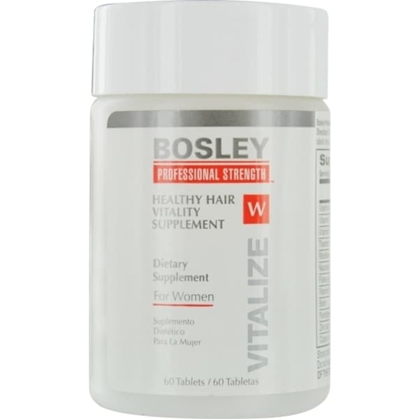 Bosley Healthy Hair Vitality Supplement for Women (60 Tablets)