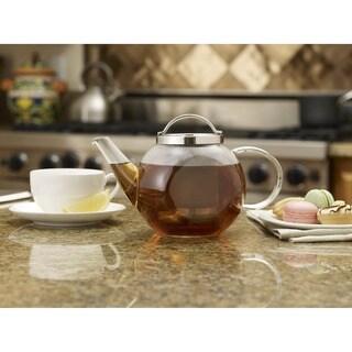 BonJour Harmony 27-ounce Glass Teapot