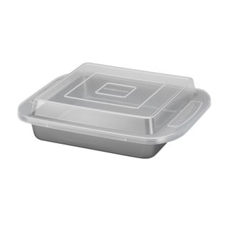 Farberware Bakeware 9-inch Square Covered Cake Pan