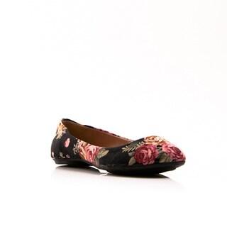 Gomax Women's 'Sienna 22' Floral Print Ballerina Flats