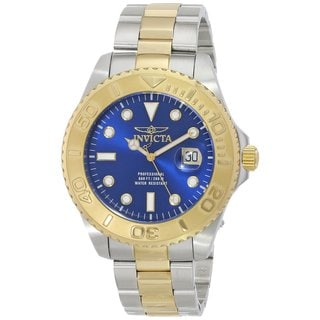 Invicta Men's Pro Diver 15181 Blue Dial Watch