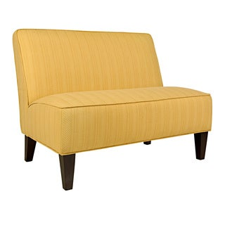 angelo:HOME Dover Golden Yellow Groove Settee