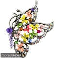 Tanzanite Butterfly Pin Brooch