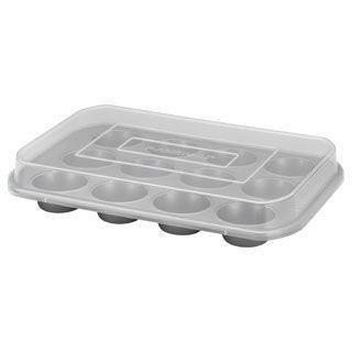 Farberware Bakeware Nonstick 12-cup Covered Muffin Pan