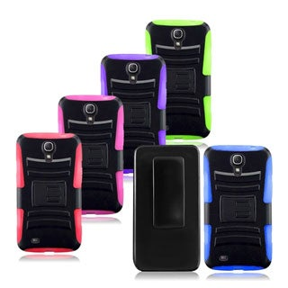 INSTEN Side Stand Phone Case Cover with Holster for Samsung Galaxy Mega 6.3
