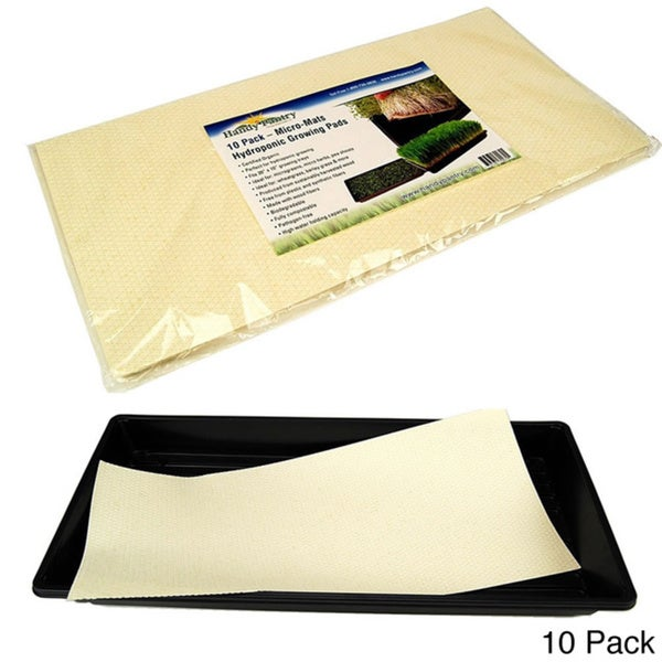 Micro-Mats Hydroponic Growing Pads For Organic Production