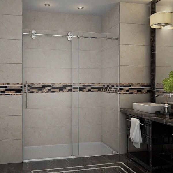 Aston Frameless Sliding Shower Door (60 x 75)