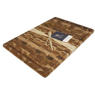 Madeira Canary Extra-large End-grain Teak Carving Board