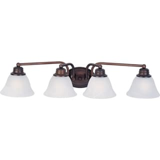 Malaga OIl-rubbed Bronze 4-light Bath Vanity Sconce