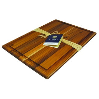 Madeira Provo Extra-large Edge-grain Teak Carving Board