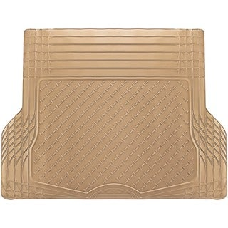 Oxgord Beige / Tan Cargo Trunk Mat Vinyl / PVC / Rubber Vinyl Trimmable Mat