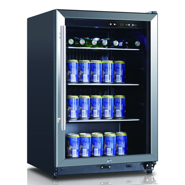 stainless steel 46cubic foot 138can beverage cooler - Uline Wine Cooler