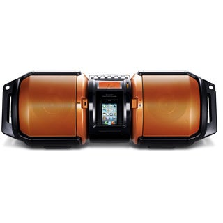 Sharp High-Power Portable Audio System with Dual Subwoofers