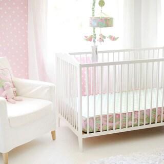 My Baby Sam Pixie Baby in Pink Crib Sheet