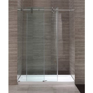 Ove Decors 60-inch Glass Shower Enclosure with Acrylic Base