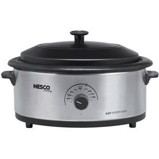 Nesco Stainless Steel 6-quart Roaster Cook Oven