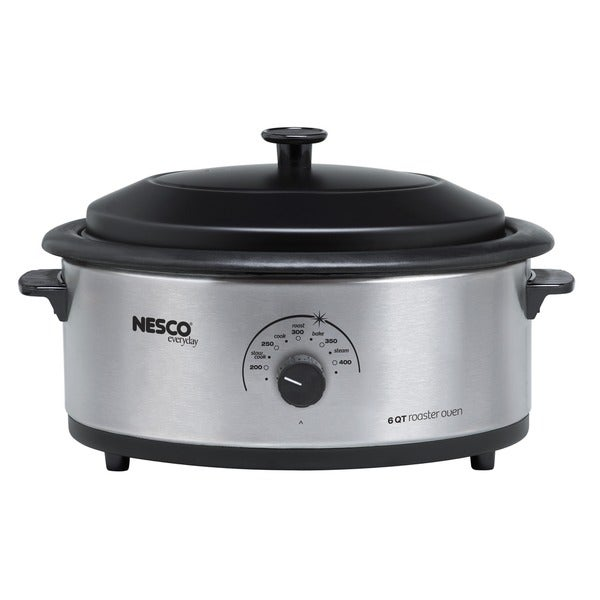 Nesco 6-quart Stainless Steel Roaster Oven