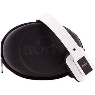iDeaUSA AtomicX HP001BT-W Bluetooth Headphone w/ Mic (White)