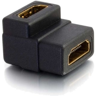 C2G Right Angle HDMI Female to Female Coupler