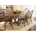 Liberty Weathered Oak 7-piece Dinette Set