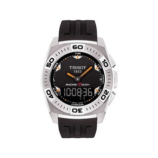 Tissot Men's Black Dial Racing Touch Watch