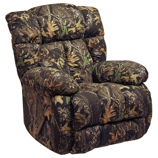 Camo Lounge Chair: Catnapper Laredo Camo Chaise Rocker Recliner