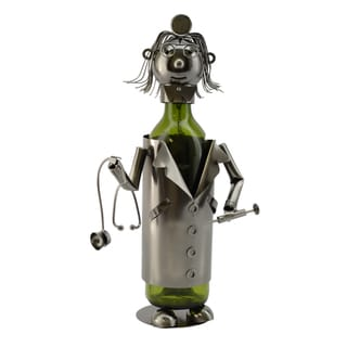 WineBodies Lady Doctor Metal Wine Bottle Holder