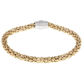 Goldtone Stainless Steel High Polish Bracelet