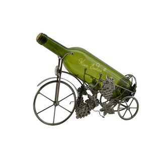WineBodies Tricycle Metal Wine Bottle Holder