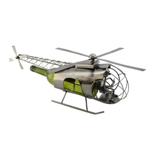 WineBodies Helicopter Metal Wine Bottle Holder