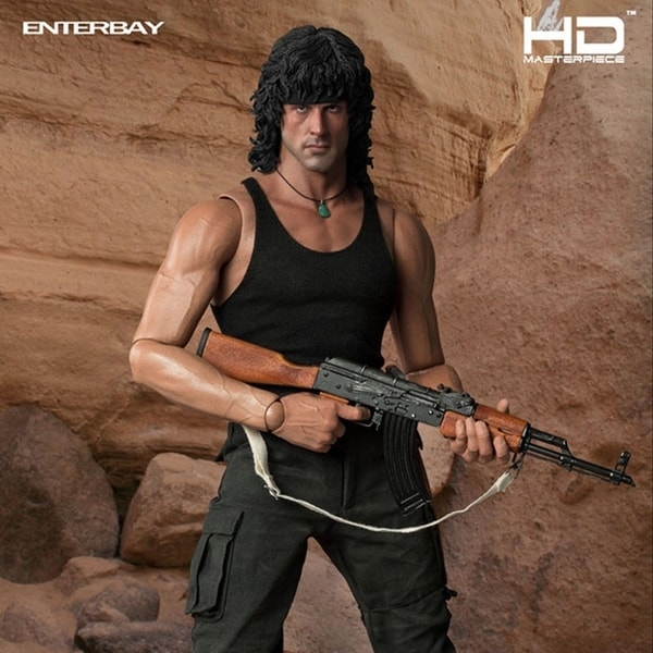 Enterbay Real Masterpiece John Rambo 1:4 Authentic Action Figure