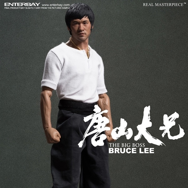 Enterbay Real Masterpiece Bruce Lee The Big Boss 1:6 Action Figure 12615514
