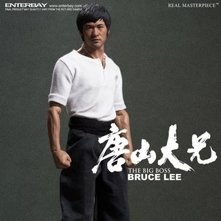 Enterbay Real Masterpiece Bruce Lee The Big Boss 1:6 Action Figure