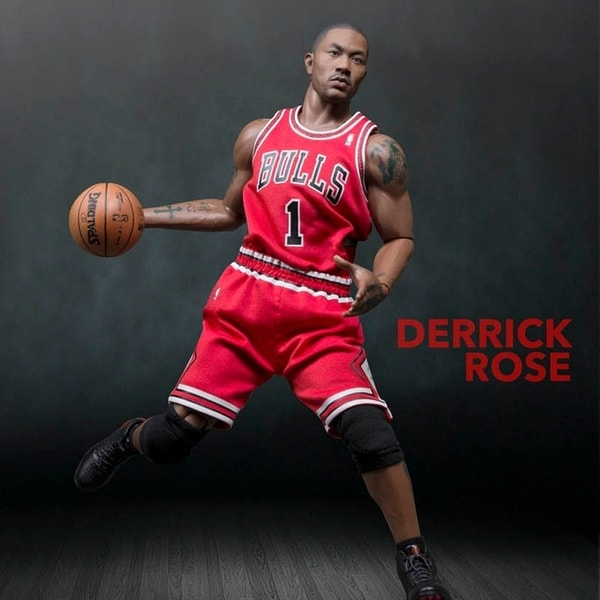 Enterbay Real Masterpiece NBA Collection Derrick Rose 1:6 Figure 12615515