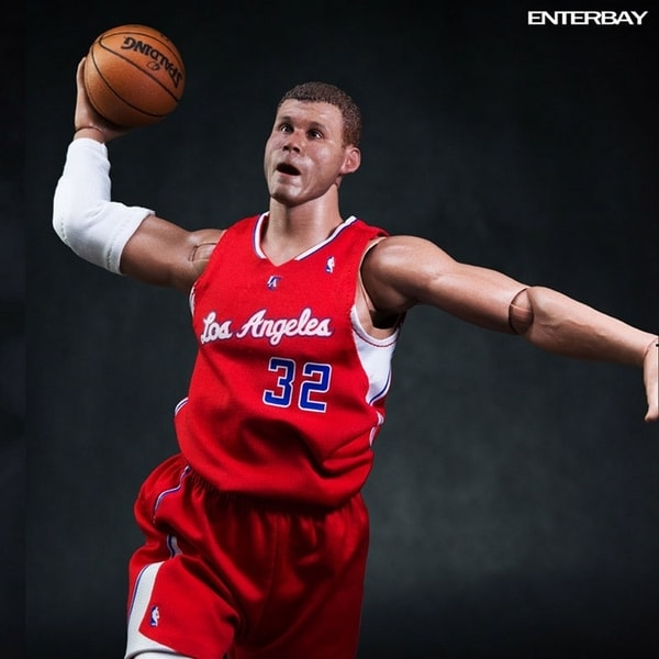 Enterbay Real Masterpiece NBA Collection Blake Griffin 1:6 Figure 12615516