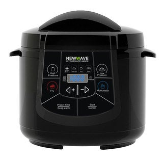 New Wave Black 6-in-1 Electric Multi-Cooker