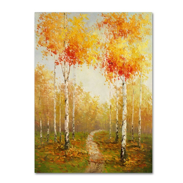 Rio 'On the Way to Aspen' Canvas Art