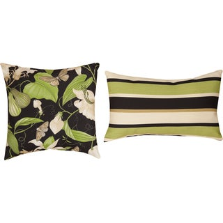 Arabel/ Lindy Lacquer Indoor/ Outdoor Pillows (Set of 2)
