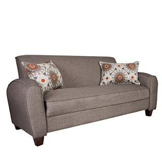 angelo:HOME Gordon Smoke Gray Sand Sofa