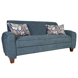 angelo:HOME Gordon Parisian Blue Evening Velvet Sofa