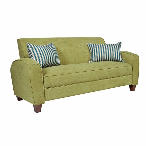 angelo:HOME Gordon Parisian Green Meadow Velvet Sofa