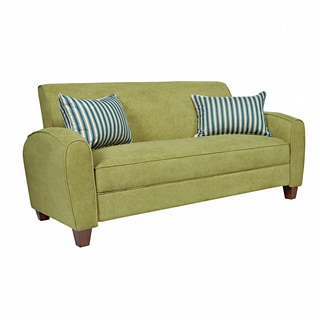 angelo:HOME Gordon Parisian Green Meadow Velvet Sofa
