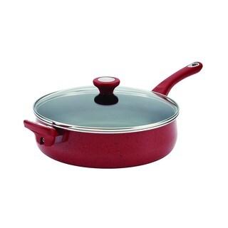 Farberware New Traditions Red Speckled Aluminum Nonstick 5-quart Jumbo Cooker