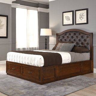 Duet Queen Tufted Diamond Bed