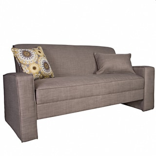 angelo:HOME Angie Smoke Gray Sand Sofa