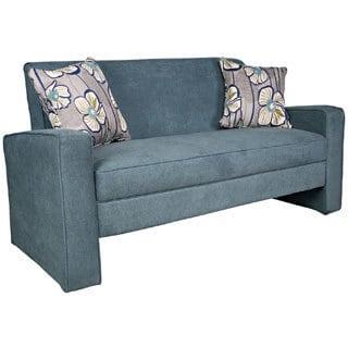 Portfolio Aviva Blue Velvet Sofa