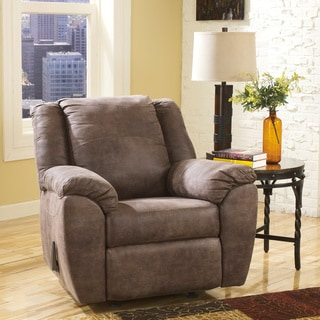Signature Design by Ashley Jathan Mocha Rocker Recliner Chair