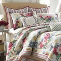 Laura Ashley Melinda 4-piece Comforter Set with European Sham Sold Seperately